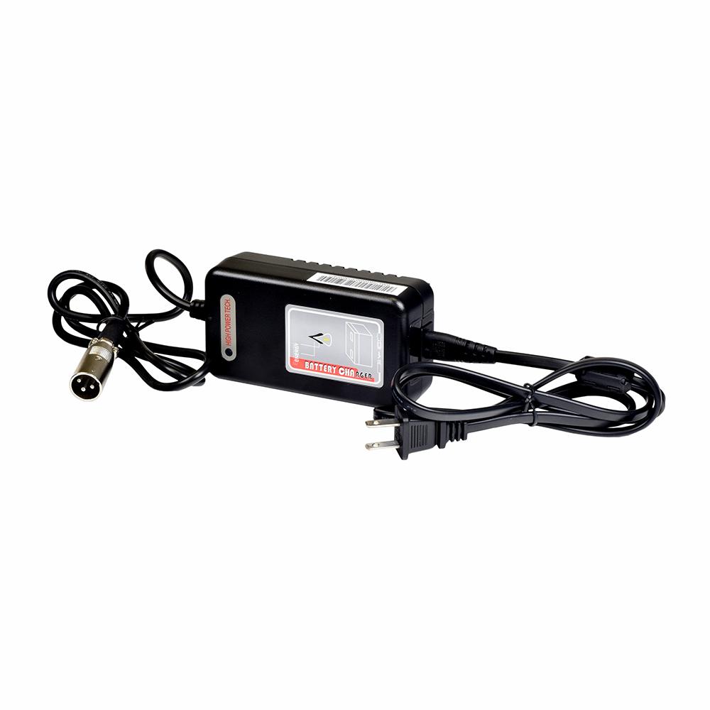 medium resolution of 24 volt 2 0 amp xlr lithium ion battery charger for the ev rider transport transport af folding scooter