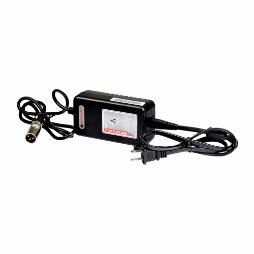 small resolution of 24 volt 2 0 amp xlr lithium ion battery charger for the go go folding scooter s19