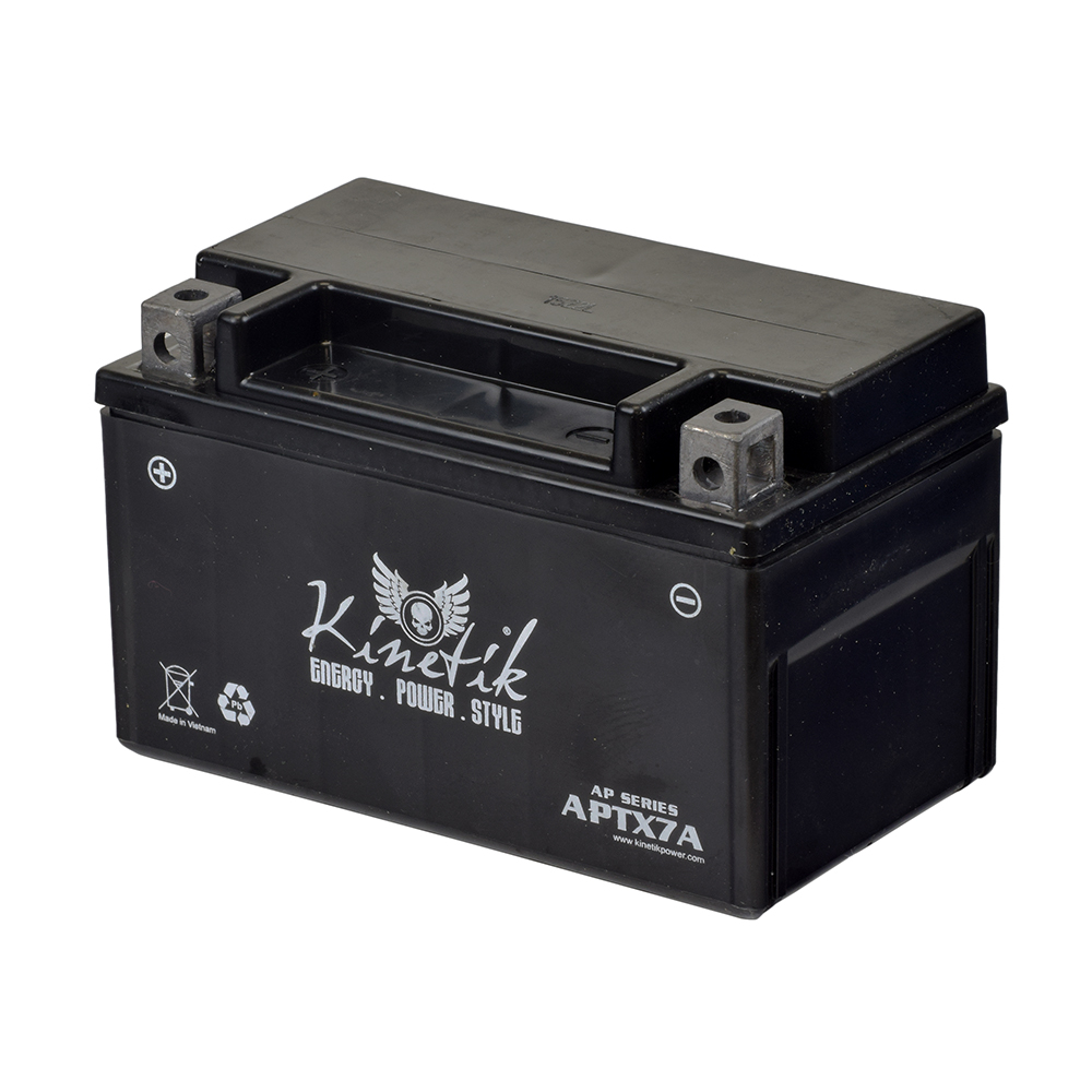 medium resolution of 12 volt ytx7a replacement sealed agm battery for roketa scooters premium
