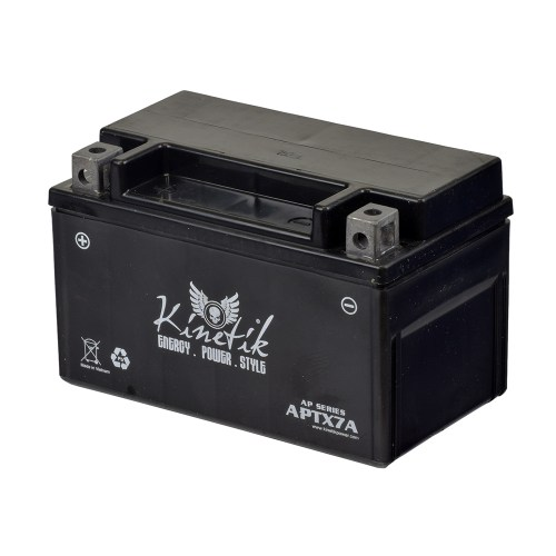 small resolution of 12 volt ytx7a replacement sealed agm battery for roketa scooters premium