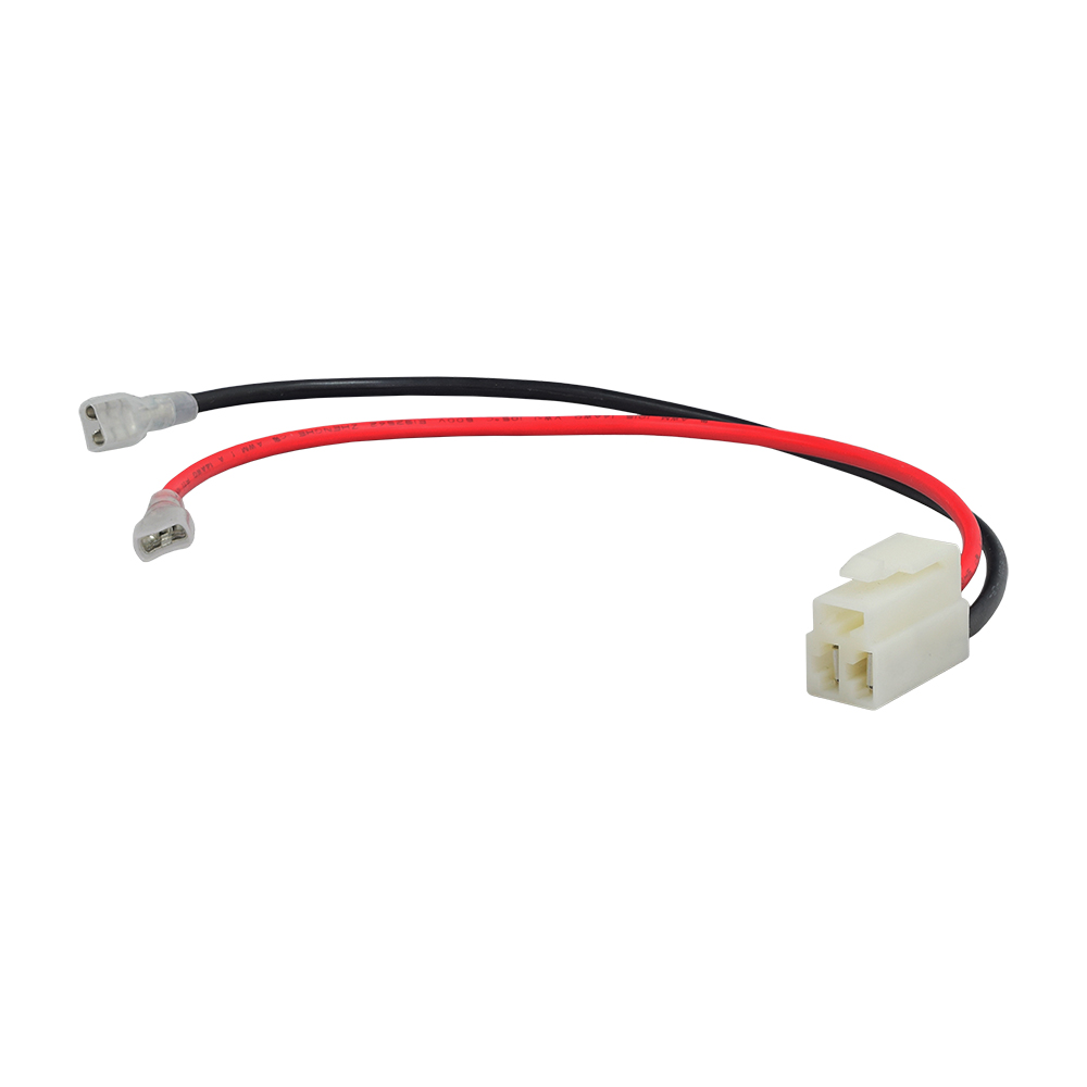 medium resolution of 3 pin 2 wire battery wiring harness with side by side pins for razor scooters