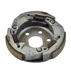 50cc gy6 scooter go kart clutch shoe assembly [ 1000 x 1000 Pixel ]