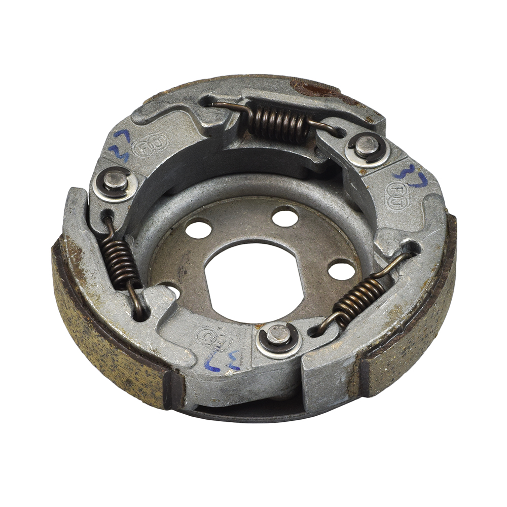 medium resolution of 50cc gy6 scooter go kart clutch shoe assembly