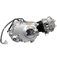 scratch dent 50cc 4 stroke engine with manual clutch kick start for dirt bikes [ 1000 x 1000 Pixel ]