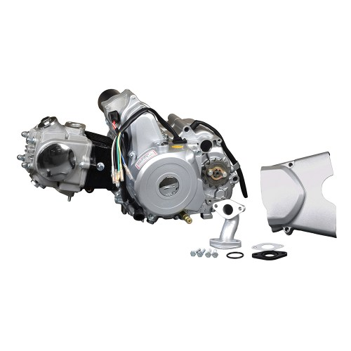 small resolution of 50cc 4 stroke auto clutch electric start honda clone atv engine