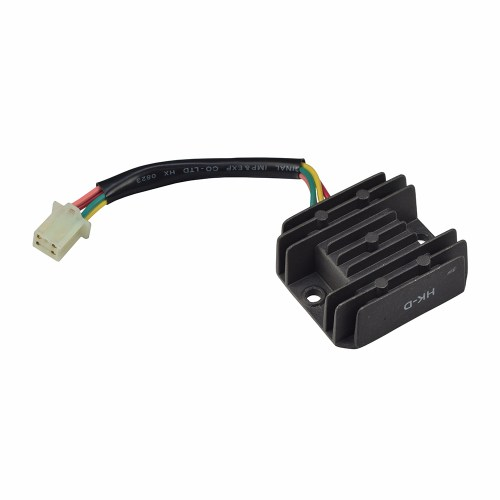 small resolution of 4 pin 4 wire rectifier voltage regulator for 50cc 250cc atv dirt bike scooter engines