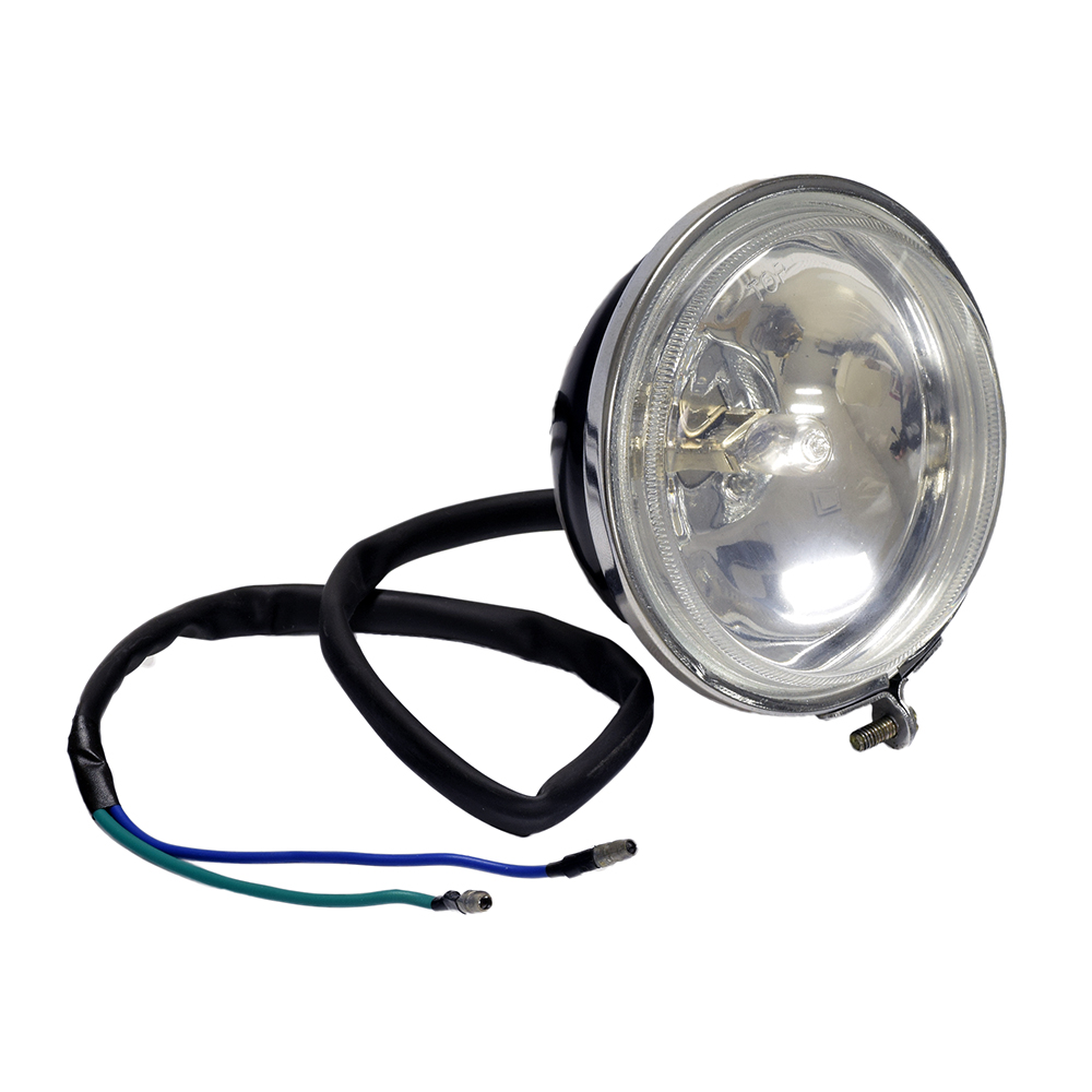 medium resolution of headlight assembly with 2 wires for the baja wd90u 90cc atv