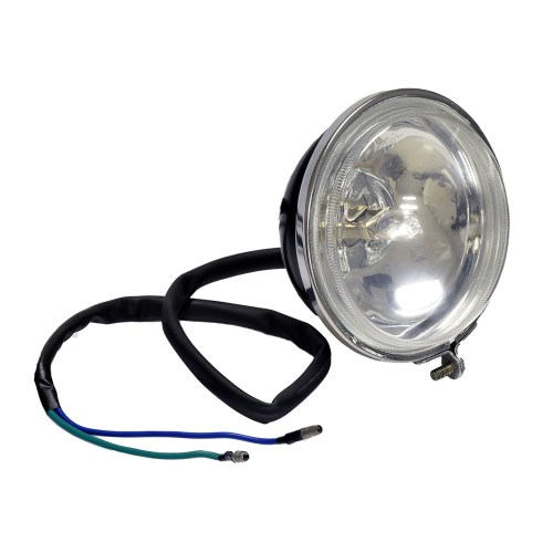 small resolution of headlight assembly with 2 wires for the baja wd90u 90cc atv