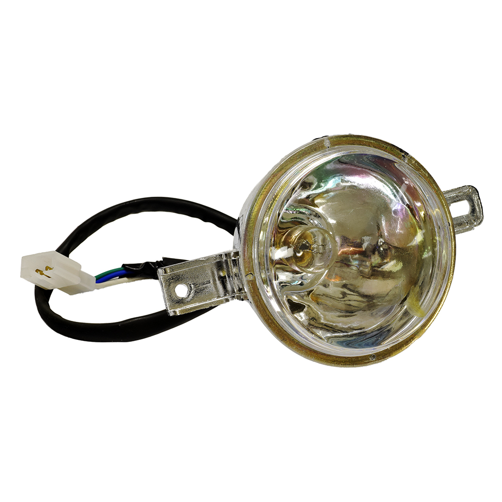 medium resolution of headlight assembly with 3 wires for the baja wd90u 90cc atv