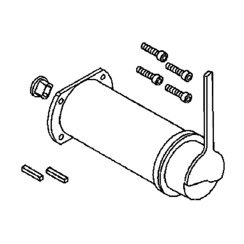 Motor and Brake Assembly for the Invacare Lynx L-3 & Lynx