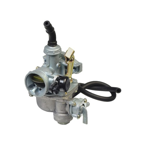 small resolution of pz19 carburetor with 19 mm intake right side cable choke fuel shut off valve for 50cc 70cc 90cc atvs dirt bikes