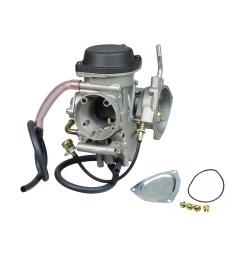 pd36j carburetor for the yamaha grizzly 400 wolverine ymf400 kawasaki kfx 400 suzuki ltz 400 [ 1000 x 1000 Pixel ]