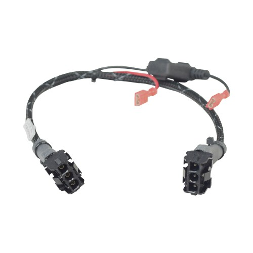 small resolution of wiring harness with fuse and fuse holder for jazzy jet power chairs