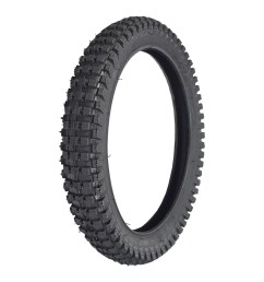 16x2 4 64 305 front tire with q204 knobby tread for the [ 1000 x 1000 Pixel ]