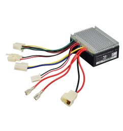 razor e300 versions 11 13 19 zk2430hb fs control module with 5 wire throttle connector [ 1000 x 1000 Pixel ]