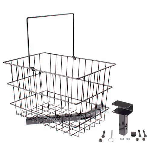 Rear Basket Assembly for Limited Recline Jazzy Power