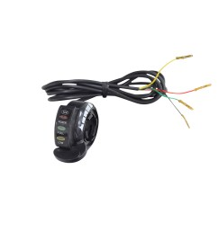 thumb throttle with 4 wires for razor scooters e200 e200s e300 e300s ground force ground force drifter dune buggy  [ 1000 x 1000 Pixel ]