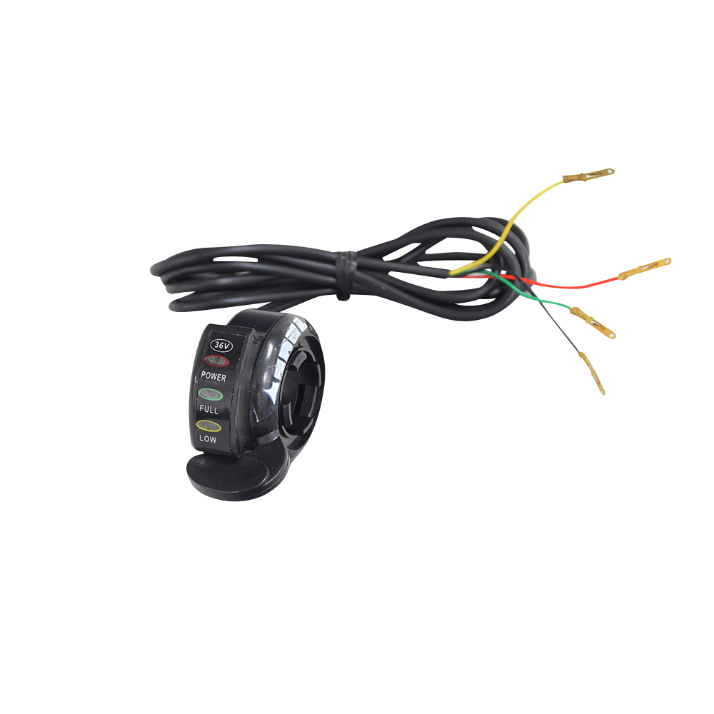 medium resolution of thumb throttle with 4 wires for razor scooters e200 e200s e300 e300s ground force ground force drifter dune buggy