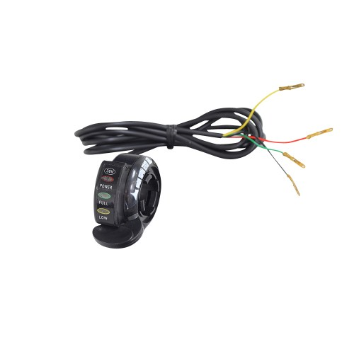 small resolution of thumb throttle with 4 wires for razor scooters e200 e200s e300 e300s ground force ground force drifter dune buggy