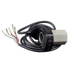 razor variable speed 5 wire twist grip throttle for razor e300 versions 8 19 [ 1000 x 1000 Pixel ]