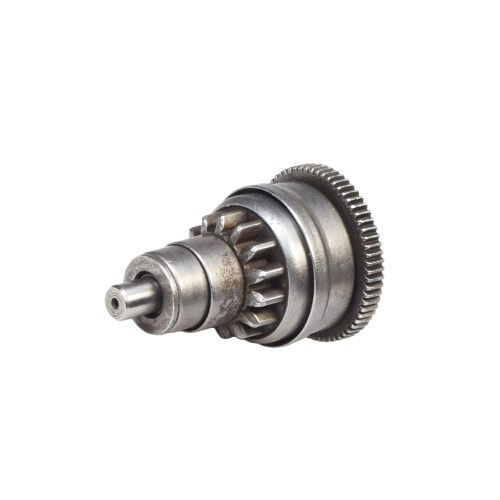 small resolution of starter clutch gear assembly bendix for 50cc qmb139 go karts