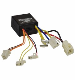 zk2400 dp fs control module with 4 wire throttle connector for the razor espark and the e100 e125 versions 10  [ 1000 x 1000 Pixel ]