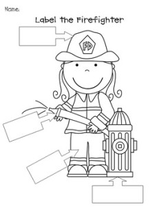 Friday Freebie: Community Helpers: Firefighter Resources