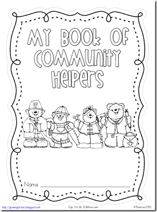 Friday Freebie: Community Helper: Community Helper Res...