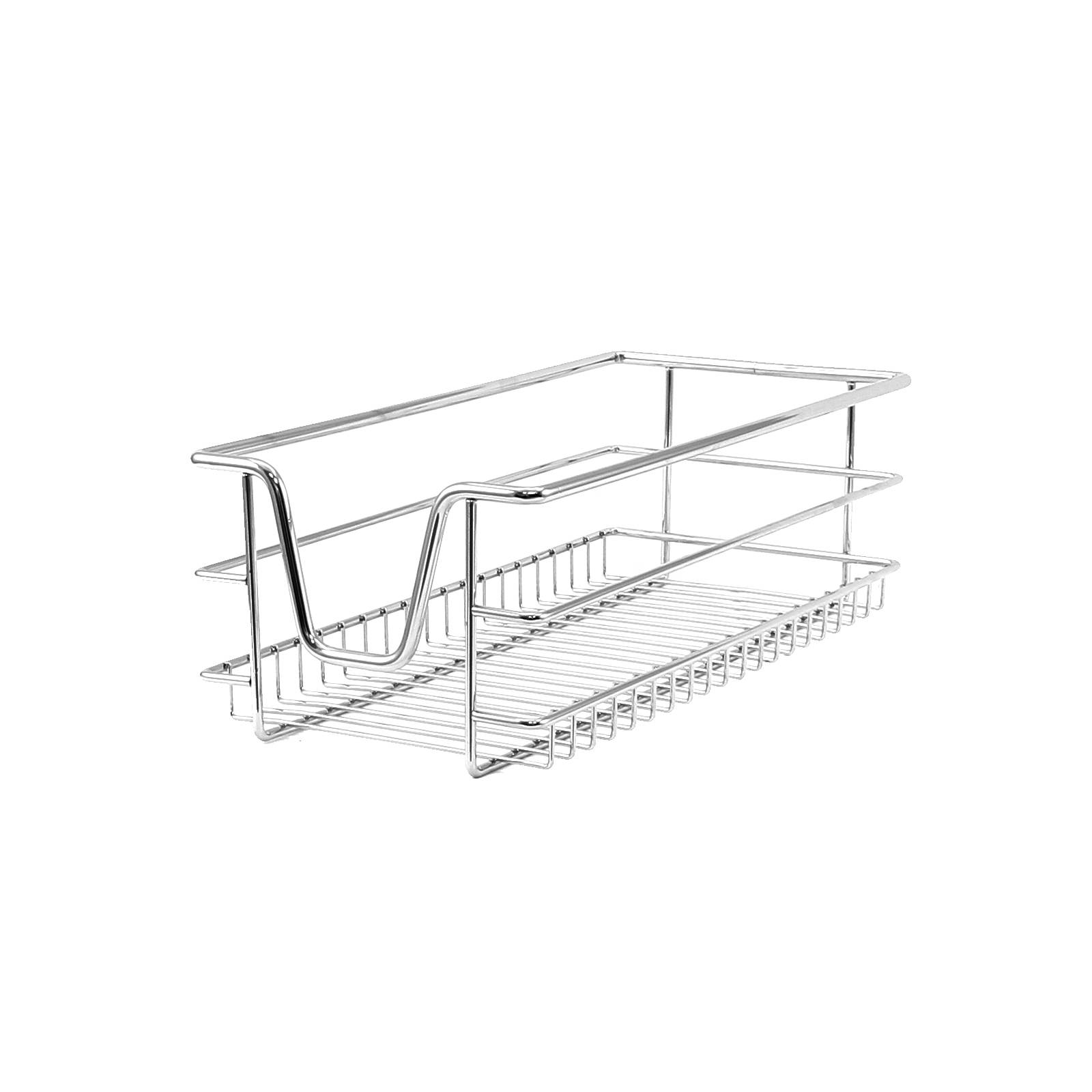 5 Kitchen Wire Baskets Pull Out Storage Drawer Slide Out