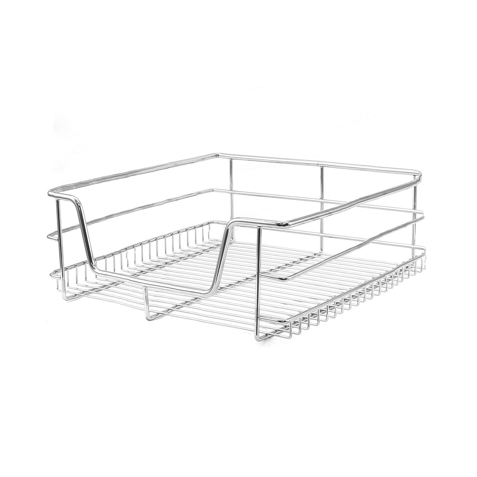 4 Pull Out Kitchen Storage Wire Baskets Drawer Slide Out