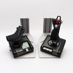 Office Chair Joystick Mount Tall Back Chairs Hotas Table Mounts By Monstertech Test