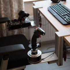 Office Chair Joystick Mount Ec 06c Massage Review Hotas Table Mounts By Monstertech Test Squadron Premier Star Citizen Organization