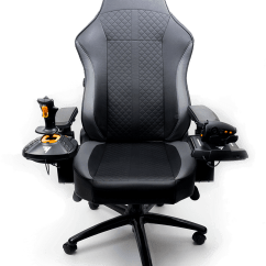 Office Chair Joystick Mount Glider Repair Parts Hotas Monstertech Usa To Guarantee The Most Stable Connection Aluminium Profiles Of Connect Directly Standard Attachment Points Armrest