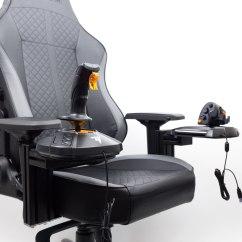 Ergonomic Chair Attachment Eames Soft Pad Executive Joystick Hotas Mount  Monstertech