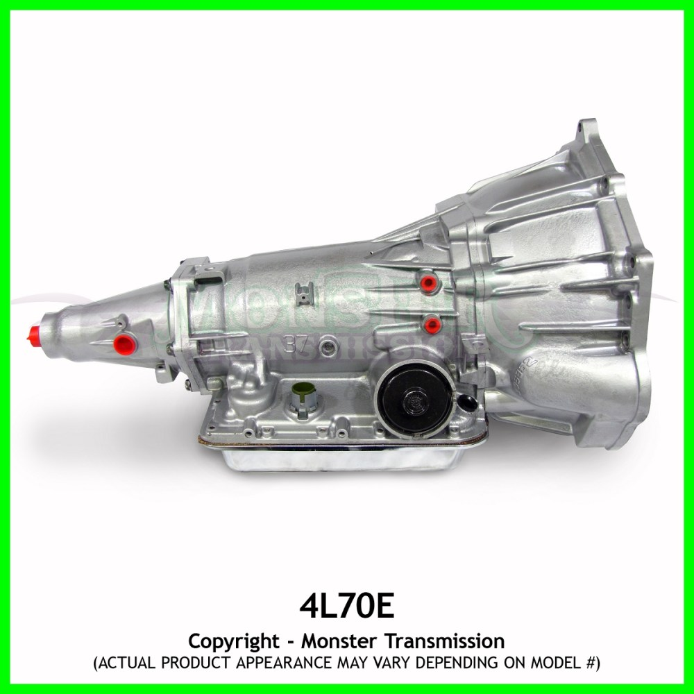 medium resolution of 4l70e transmission remanufactured heavy duty 4 8 5 3 ls1 6 0l 2wd 43 off