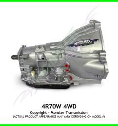 4r70w transmission remanufactured heavy duty performance transmission 4x4 [ 2000 x 2000 Pixel ]