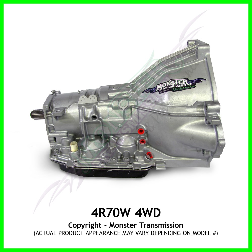 medium resolution of 4r70w transmission remanufactured heavy duty performance transmission 4x4