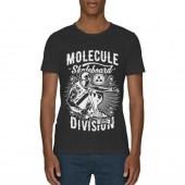 Molecule Division Black Scoop Neck T-Shirt