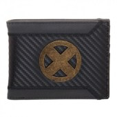 X-Men Logo Carbon Bifold Wallet