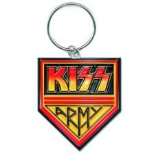 Kiss Army Pennant Keychain