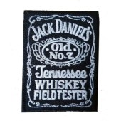 Ραφτό Jack Daniel's Woven Iron On Embroidered Patch