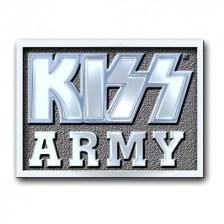 Καρφίτσα Kiss Army Block Pin Badge