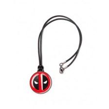 Μενταγιόν Deadpool - Necklace With Leather Cord