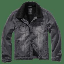 Μπουφάν Brandit Sherpa Denim Jacket Black