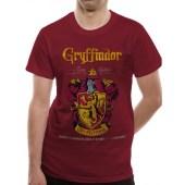 Μπλούζα Harry Potter - Gryffindor Team Quidditch T-Shirt