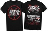 Μπλούζα Suicidal Angels Live Aggression Greece T-Shirt