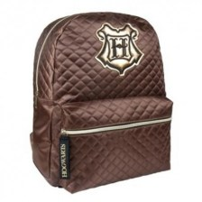 Τσάντα Πλάτης Harry Potter Hogwarts Quilt Backpack Καφέ