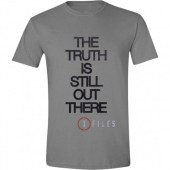 X-Files - The Truth is Still Out There Men T-Shirt - Grey