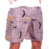 Μαγιό Batman - Bricks Men Swimshorts - Grey