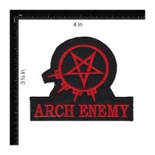Arch Enemy Woven Iron On Embroidered Patch Tweet